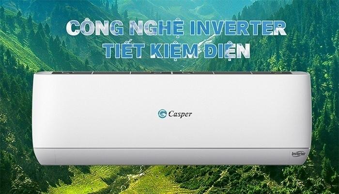 Điều hòa Casper 2 chiều inverter EH-12TL22