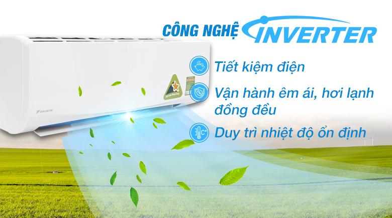 Điều hòa Daikin 1 chiều 18000btu FTKA50UAVMV mẫu mới 2020- giá rẻ tại tp vinh nghệ an