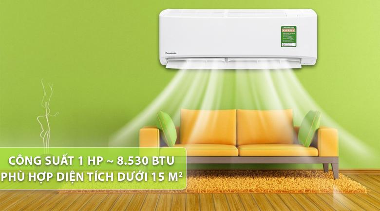 Điều hòa panasonic 1 chiều 9000 Btu CU/CS-XPU9WKH-8- thiết kế đẹp