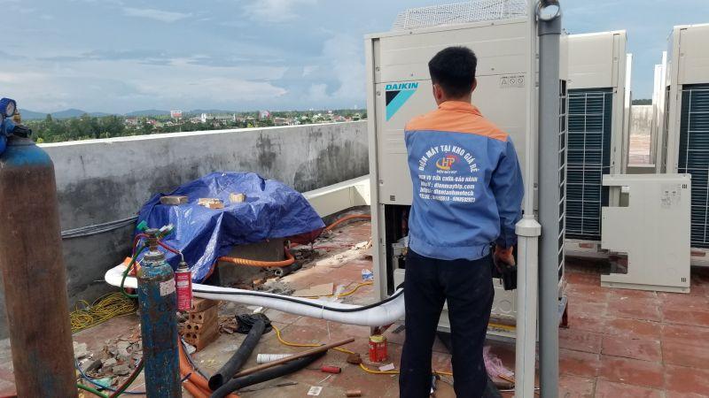 Nhà thầu cung cấp lắp đặt điều hòa thông gió tại nghệ an