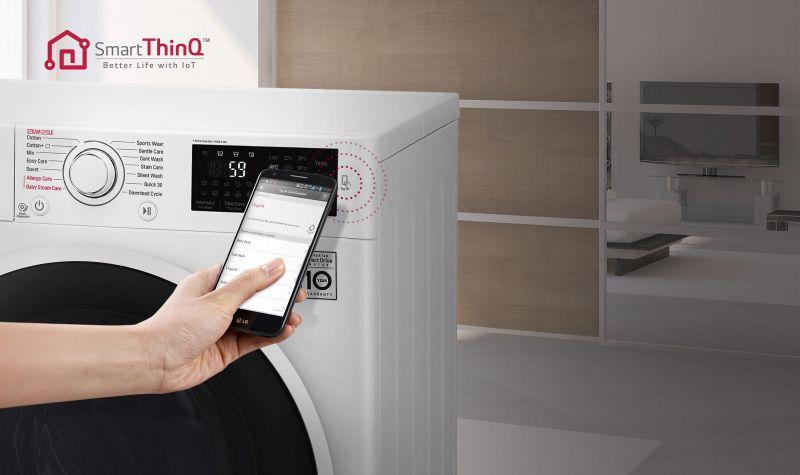 Máy giặt LG 9 kg inverter FC1409S2E - NFC