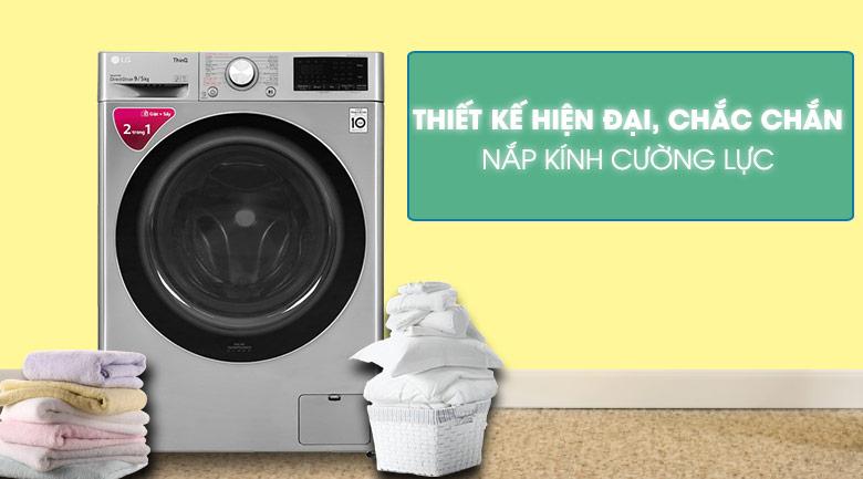 Máy giặt sấy LG lồng ngang 9 kg FV1409G4V