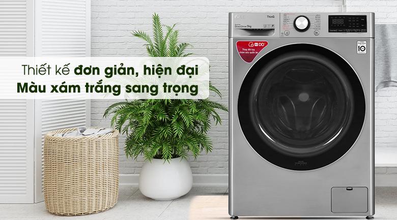 Máy giặt LG lông ngang 9 kg FV1409S2Vnăm 2020