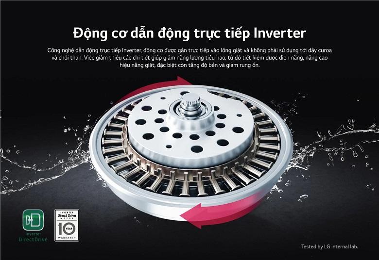 Máy giặt LG lông đứng 12 kg TH2112SSAV tại vinh nghệ an
