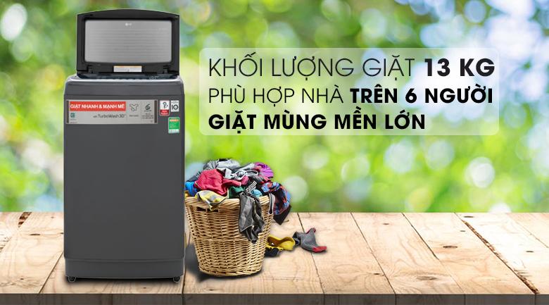 Máy giặt LG 13 kg lồng đứng TH2113SSAK giá rẻ nhất tại tp vinh, Nghệ An