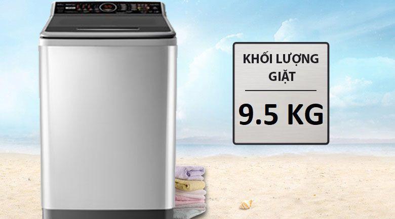 Máy giặt Panasonic 9.5 Kg NA-FS95V7LRV- khối lượng giặt 9.5kg