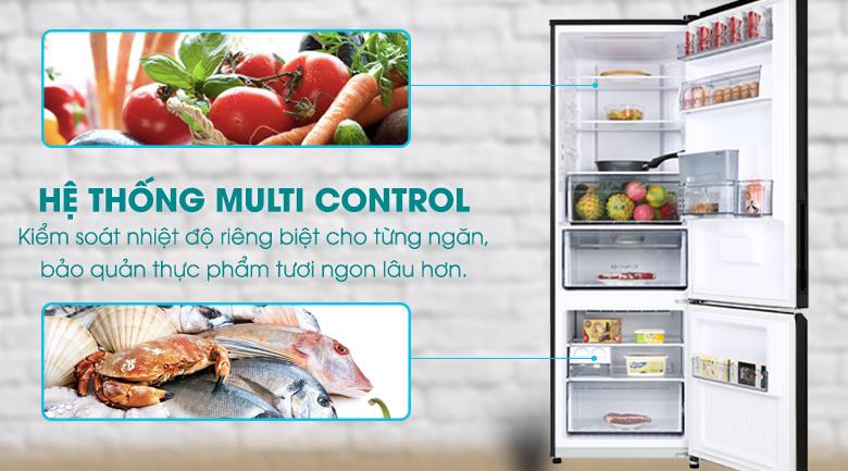 Tủ lạnh Panasonic 322 lít NR-BC360WKVN tại nghệ an