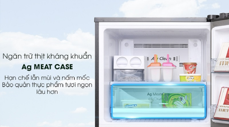 Tủ lạnh Panasonic 366 lít NR-BL389PKVN- kháng khuẩn