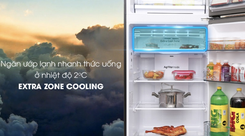 Tủ lạnh Panasonic 366 lít NR-BL389PKVN- extra cool