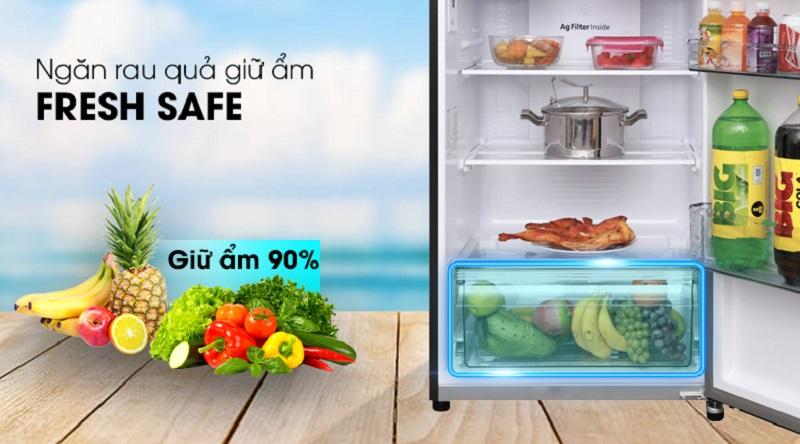 Tủ lạnh Panasonic 366 lít NR-BL389PKVN- ngăn rau củ quả