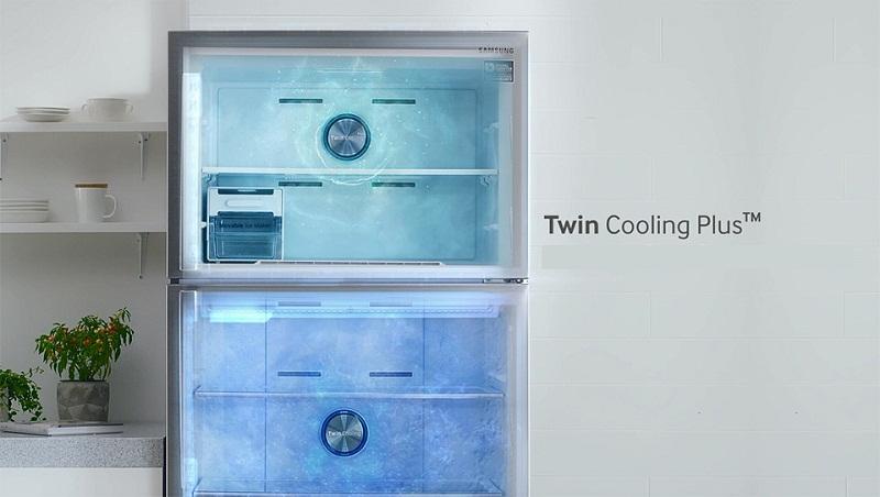 Tủ lạnh Samsung 360 lít Inverter RT35K5982S8/SV 2 dàn độc lập