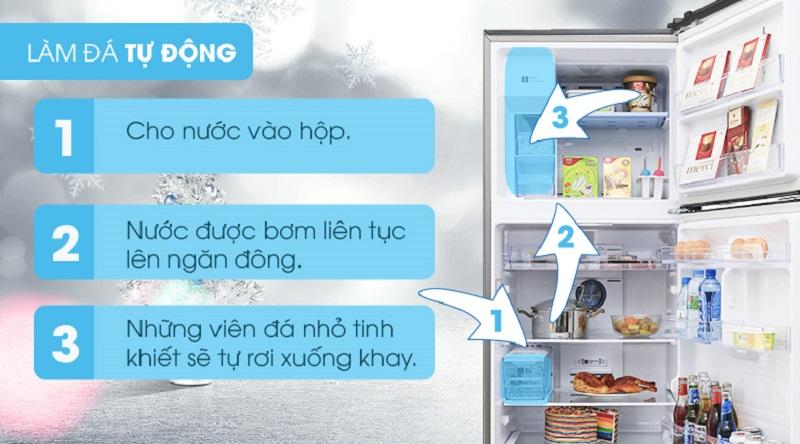 Tủ lạnh Samsung 360 lít Inverter RT35K5982S8/SV- lấy nước ngoài