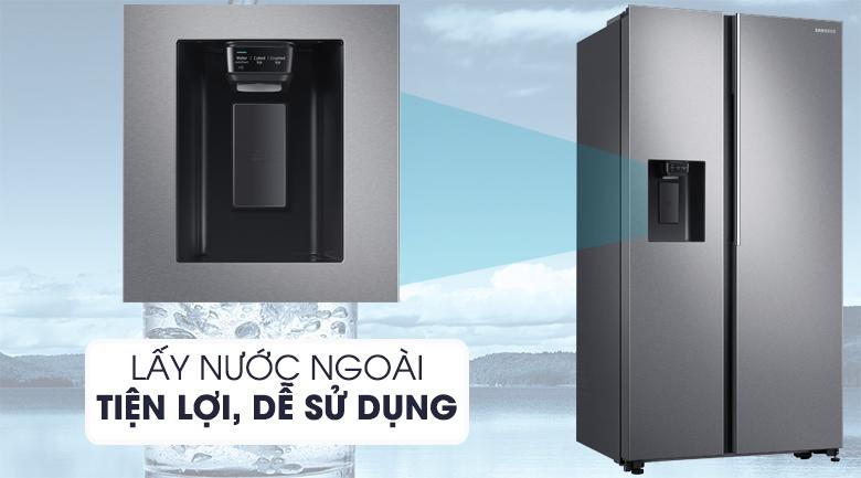 Tủ lạnh Samsung 617 lít side by side RS64R5101SL/SV giá rẻ