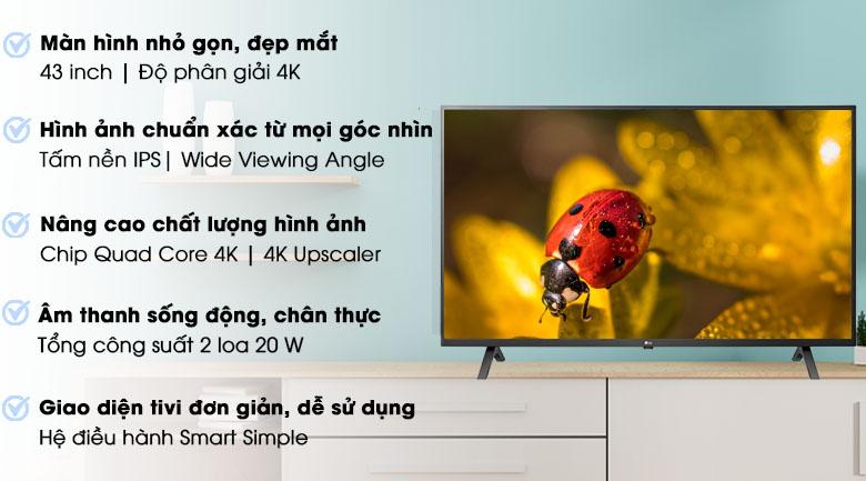 công nghệ Tivi LG 43 inch 43UN7000PTA- mẫu 2020
