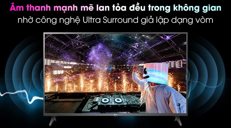 Tv LG  43UN7300PTC- âm thanh vòm
