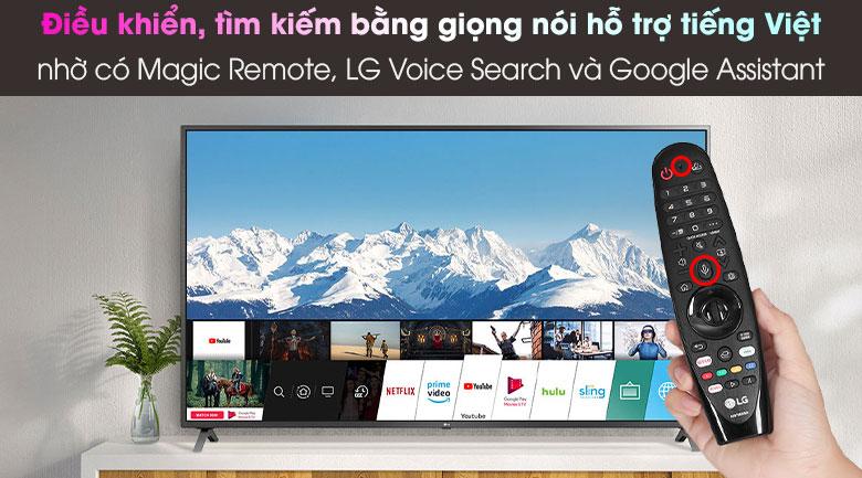 TiviLG 43 inch 43UN7300PTC- điều khiển bằng giọng nói