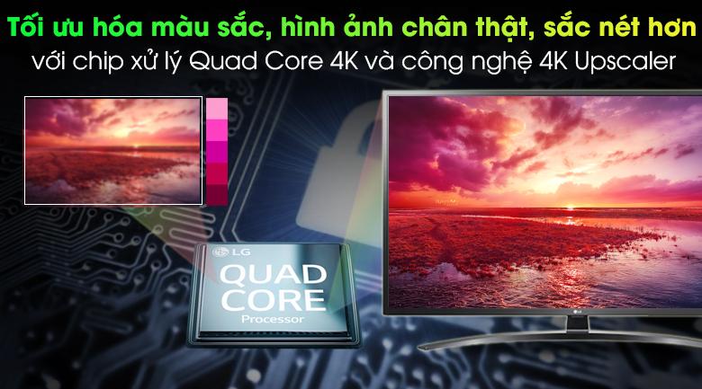 Smart TV LG 49 inch 49UN7400PTA mẫu 2020