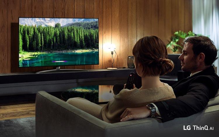 Smart tivi LG 55 inch nanocell 55SM8600PTA- trí tuệ nhân tạo