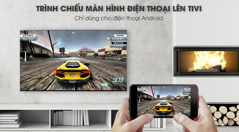 Smart tivi LG 55 inch nanocell 55SM8600PTA- chiếu màn hình lên điện thoại