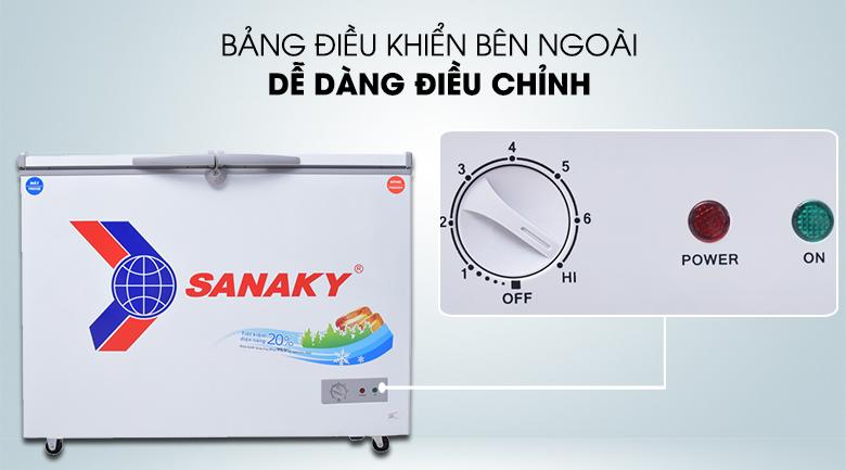 Nút điều chỉnh nhiệt độ - Tủ đông Sanaky VH-2899W1