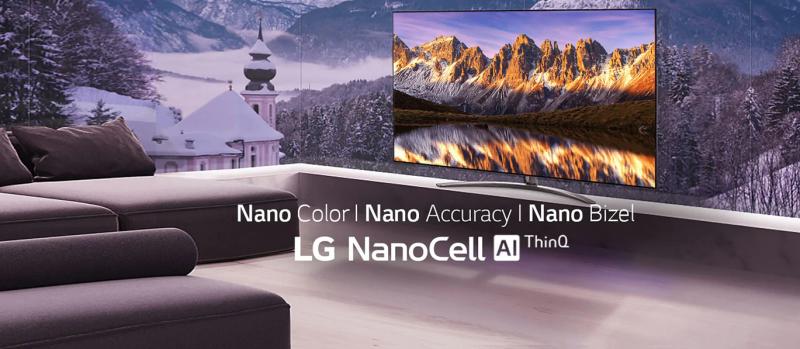 tivi lg nanocell năm 2020 -2021