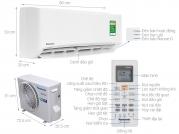 Điều hòa panasonic 1 chiều 9000 Btu inverter CU/CS-PU9VKH