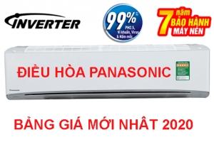 Bảng giá điều hòa Panasonic mới nhất 2020, giá tốt nhất