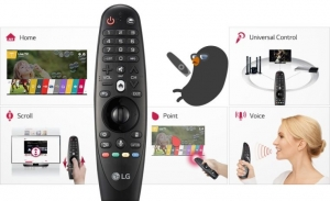 Tìm hiều Magic remote hay điều khiển thông mình của tivi LG