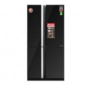 Tủ lạnh Sharp 678 lít 4 cánh SJ-FX688VG-BK Đen