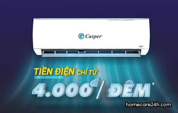 Điều hòa casper có tốn điện không? có nên sử dụng máy lạnh casper